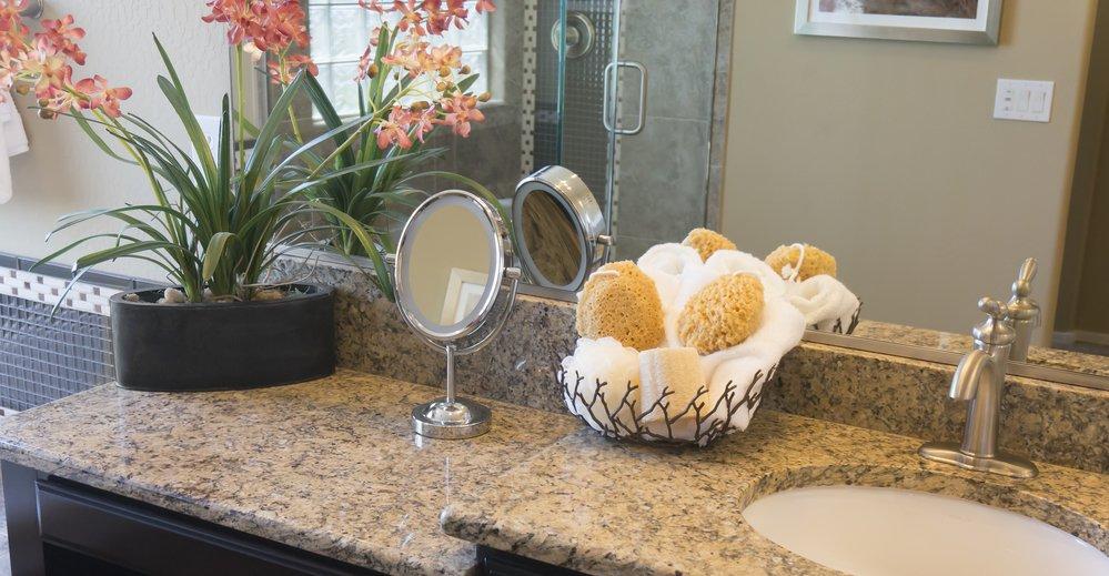 Custom Granite Countertops for the Bathroom