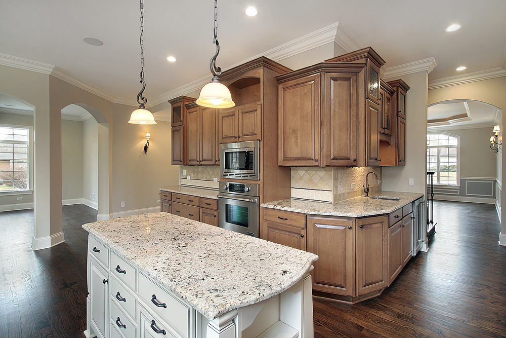 How to match granite countertops to your cabinets