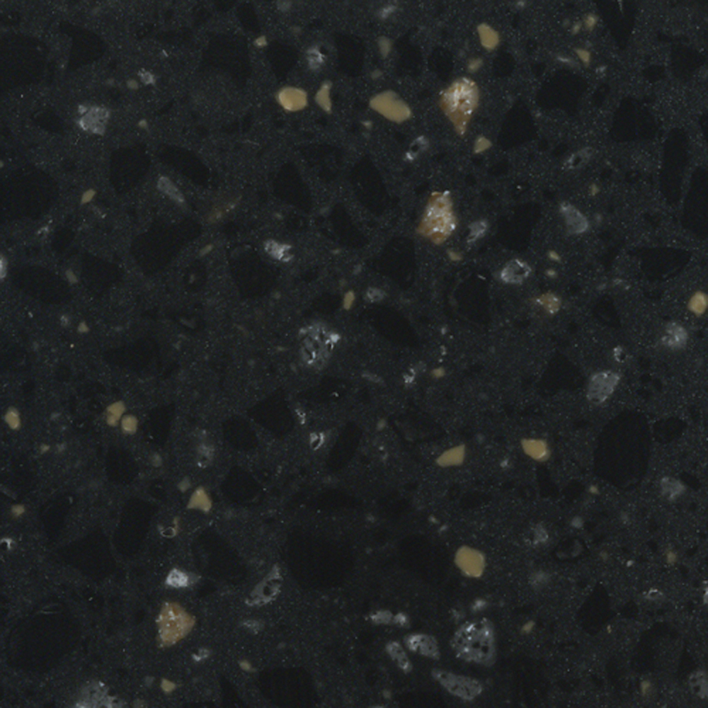 Royal Black Solid Surface