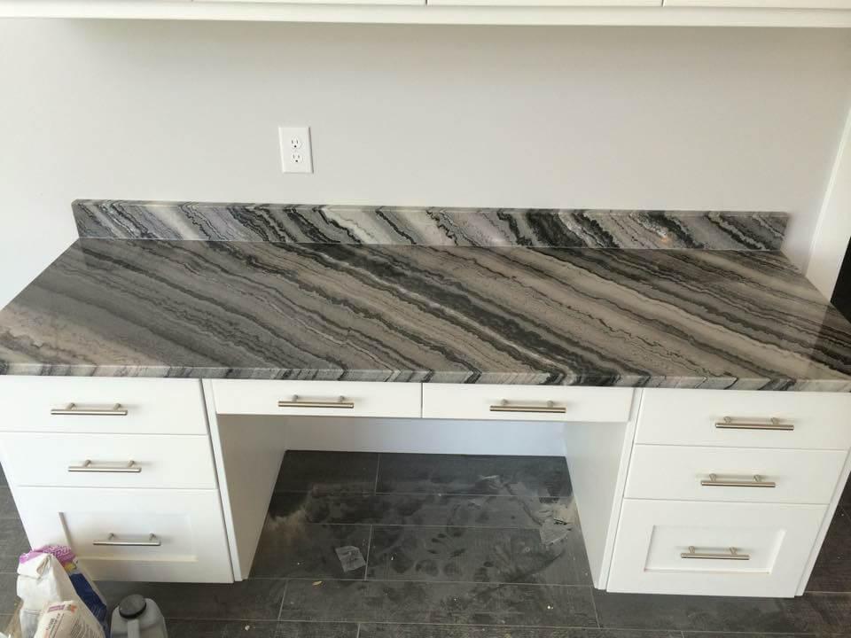 granite desk