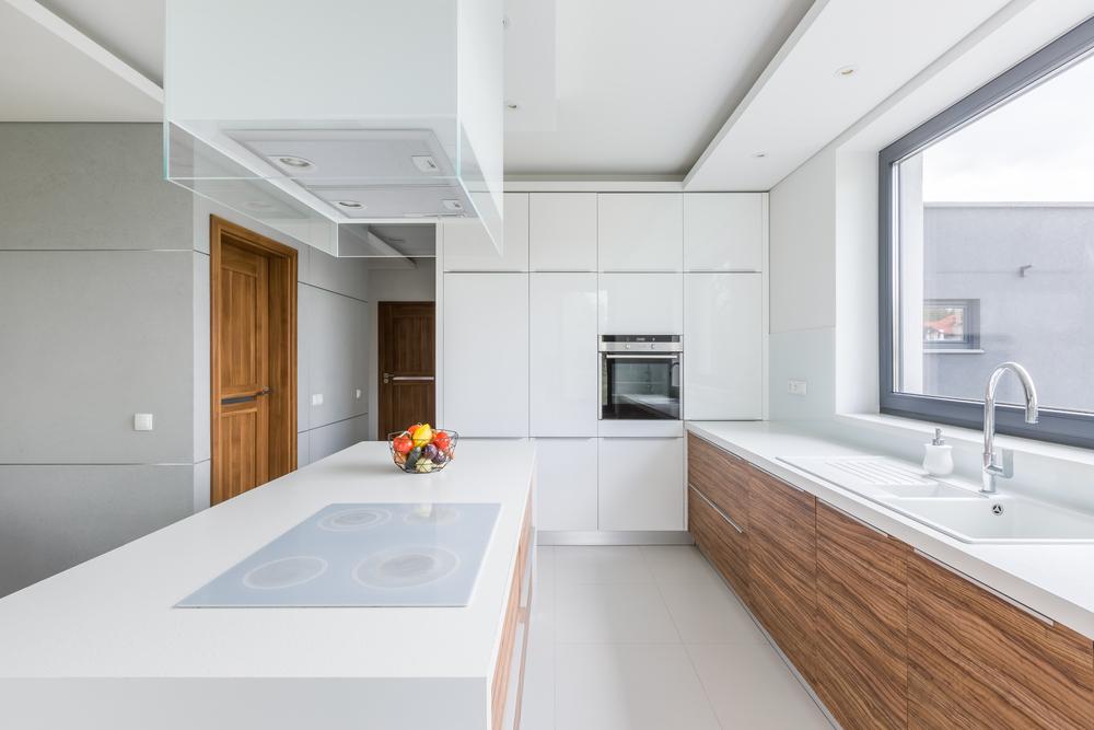 matching kitchen countertops floor tiles